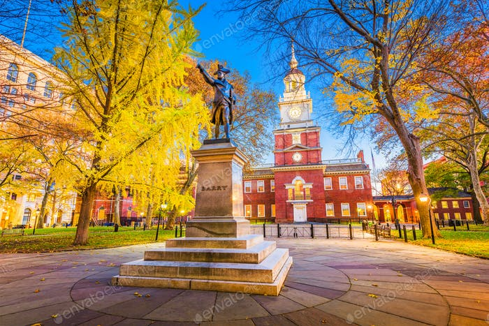 Philadelphia, Pennsylvania in der Independence Hall