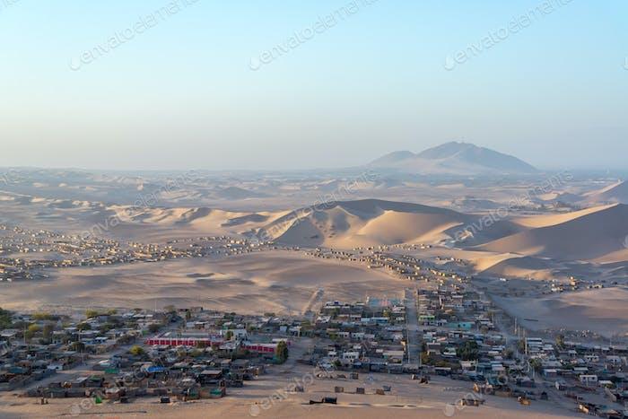 Poor Desert Town