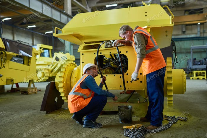Adjusting Engine Features of Heavy Vehicle