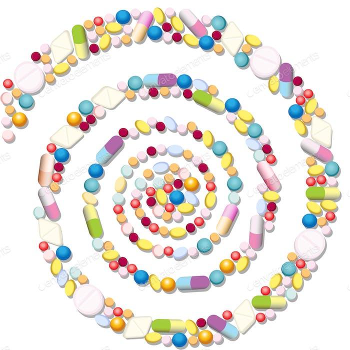Pills Spiral