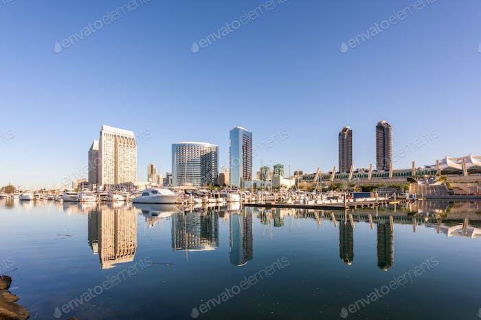 San Diego, California, USA Cityscape