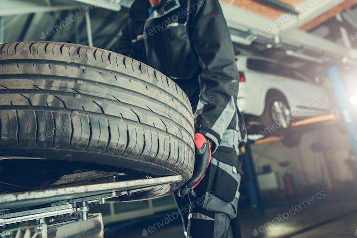 Remplacement de pneu Vulcanizer