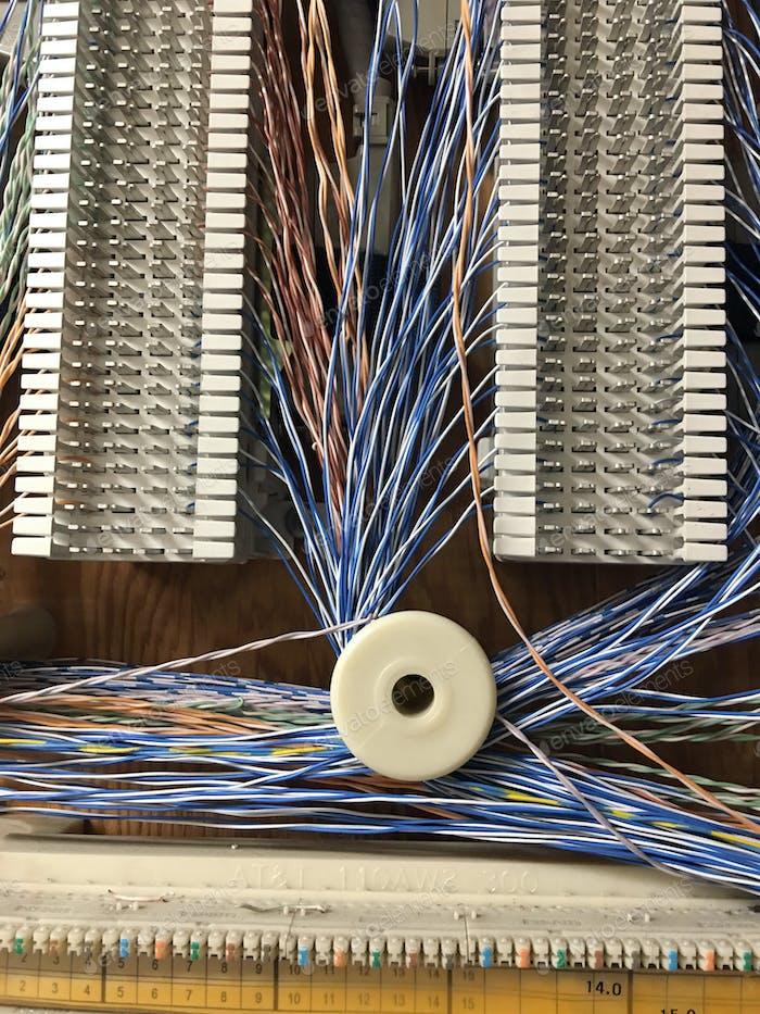 Kommunikationsraum Hotel Telefonleitungen Telefonanschlüsse