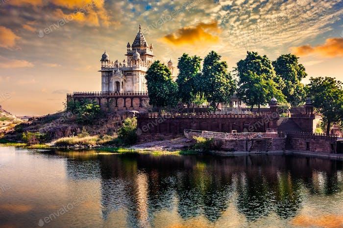 Jaswanth Thada mausoleum, Jodhpur, Rajasthan, India