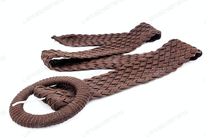 Women belts of cloth
