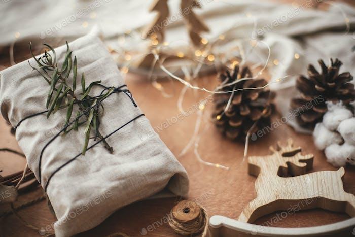 Merry Christmas, eco concept
