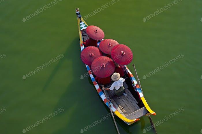 Irrawaddy River, Mandalay, Myanmar