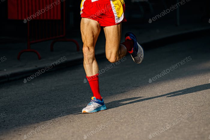 legs athlete runner