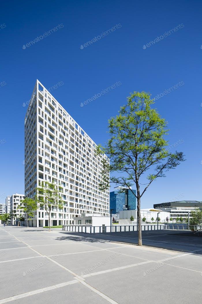 Donau City Appartment Building in Vienna, Austria