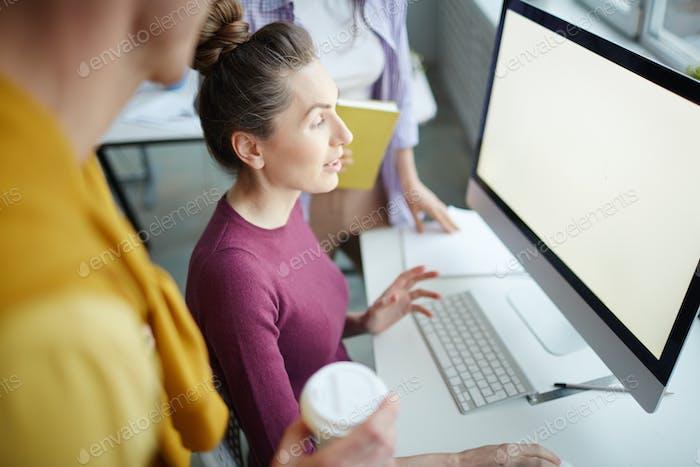 Looking through online trends