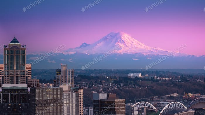 Mount Rainier Seattle USA