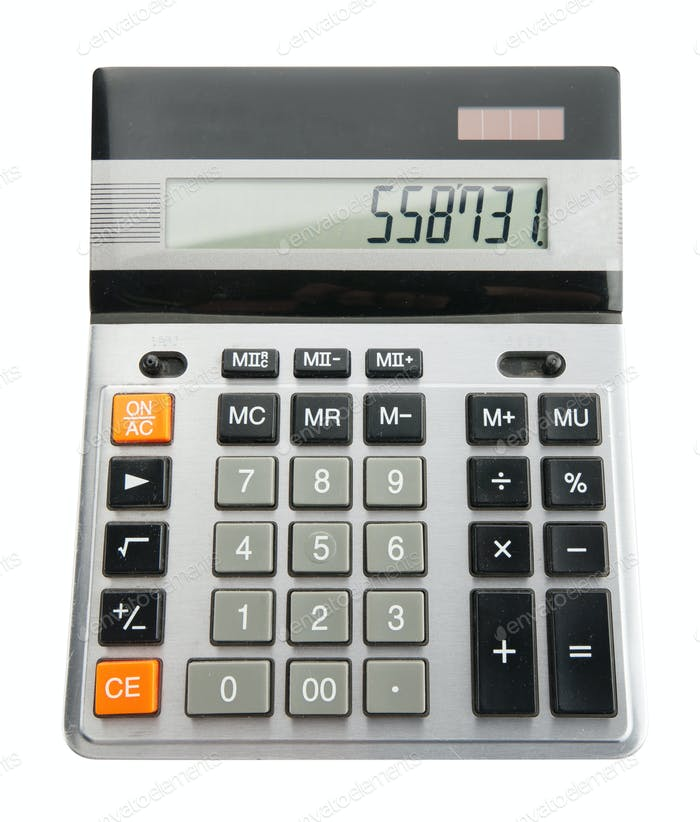 A business calculator
