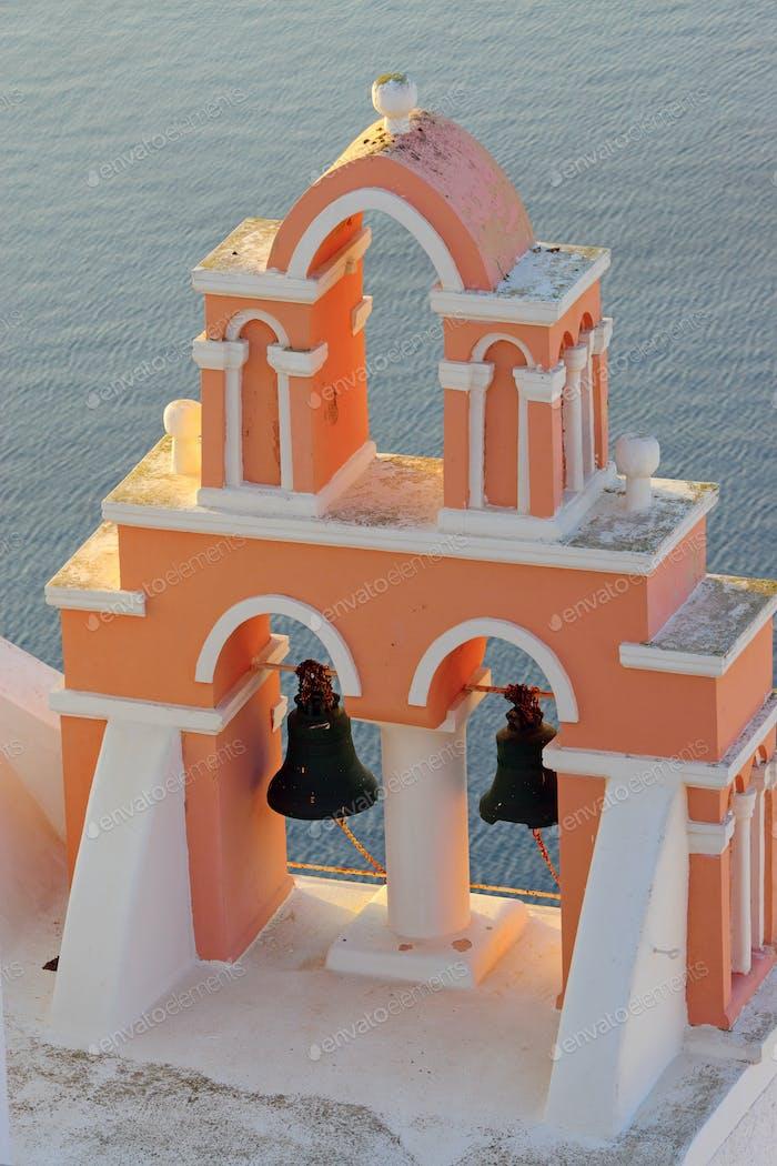 Belltower above the sea