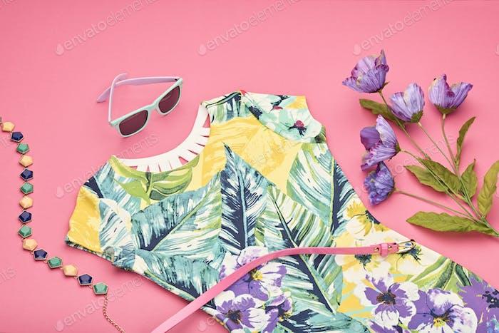 Frühling Design Mode Mädchen Kleidung Set.Perspektive
