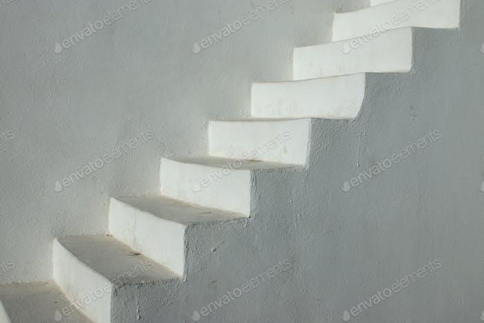 Escaleras blancas