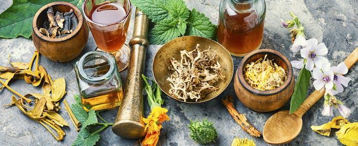 Healing medical herbs