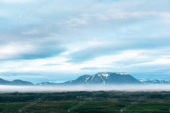 Typical Iceland landscape