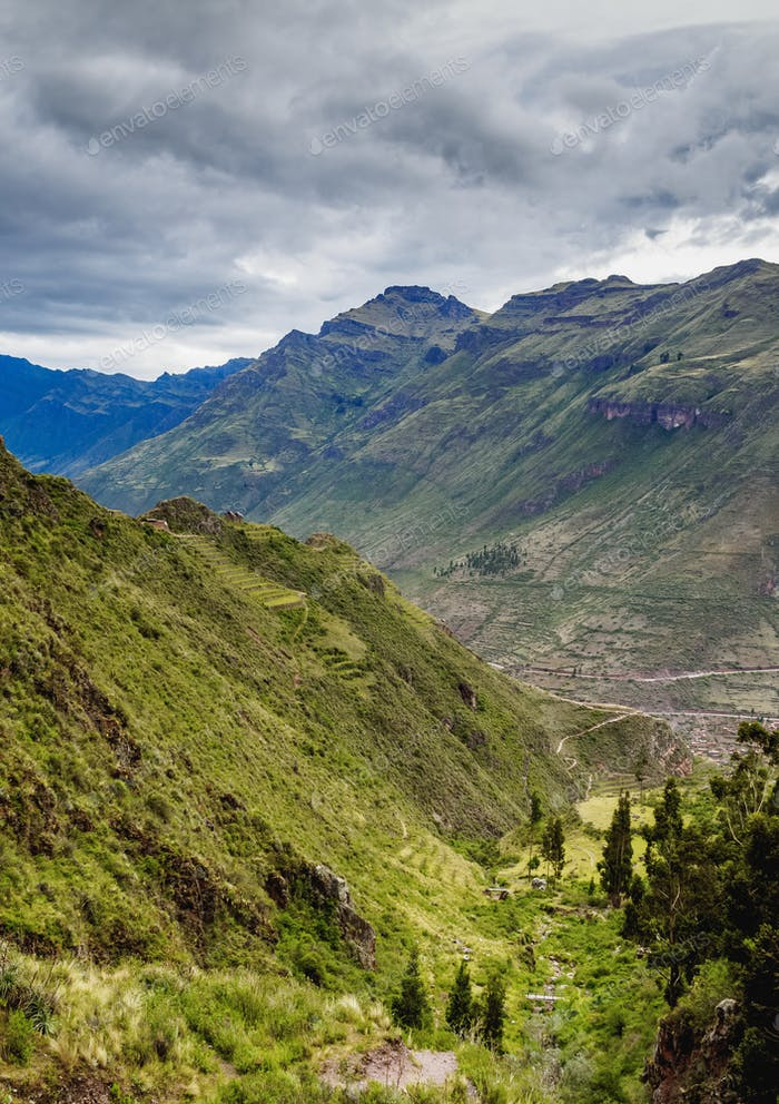 Pisac in Sacred Valley, Peru