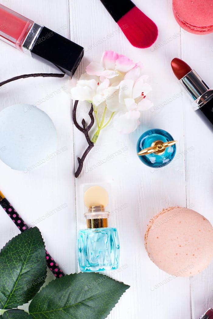 perfume and cosmetics