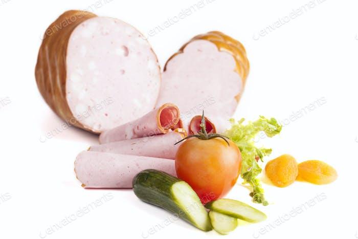Salami and Vegetables