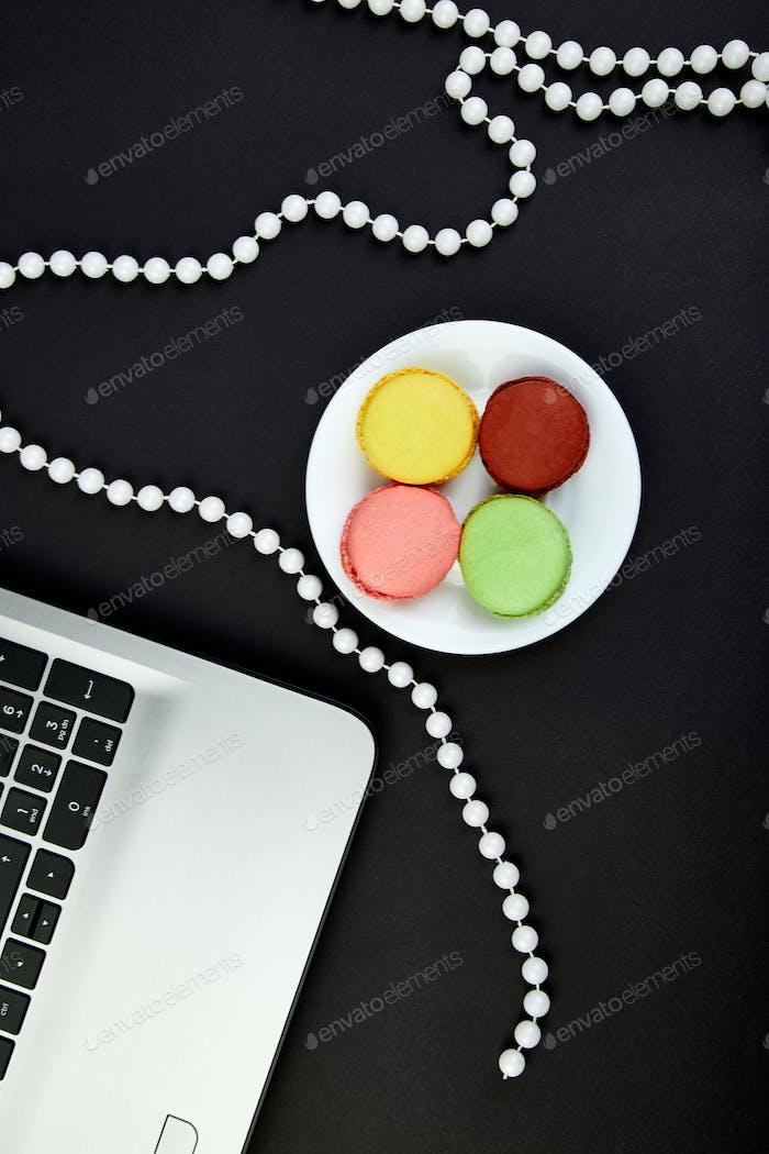 Sweet Dessert Macaron notebook.