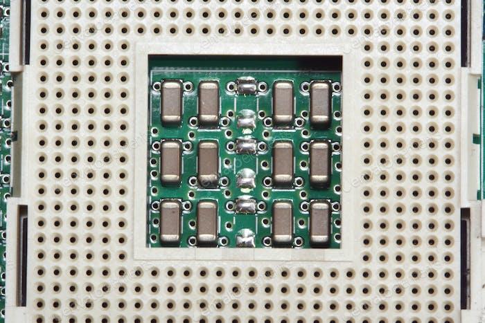 Computer processor cpu slot