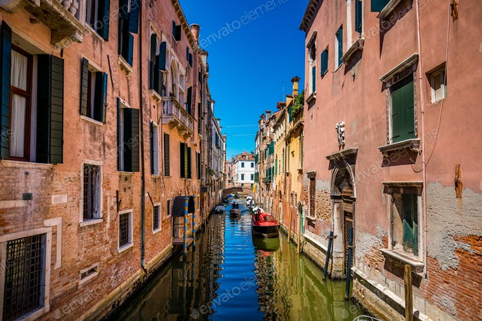 Venedig ein heller sonniger Tag