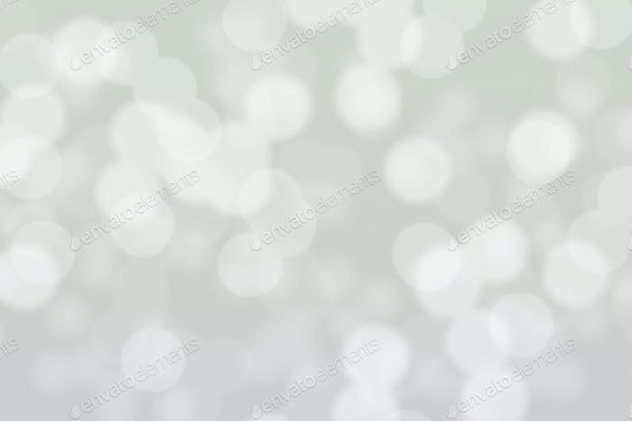 Abstract circular grey bokeh background