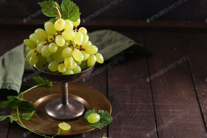 Ripe Organic Grapes