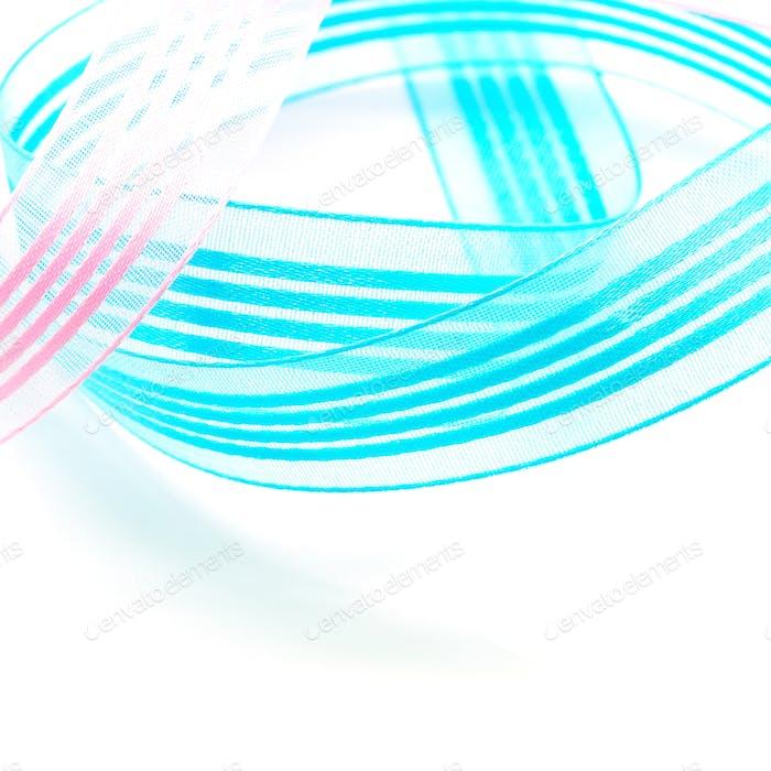ribbon isolated
