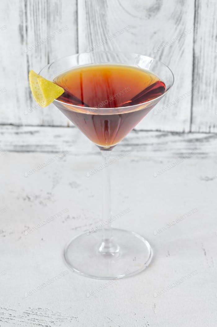 Glass of Martinez