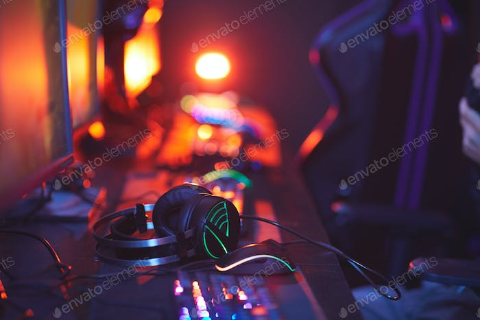 Lit Up Gaming Equipment