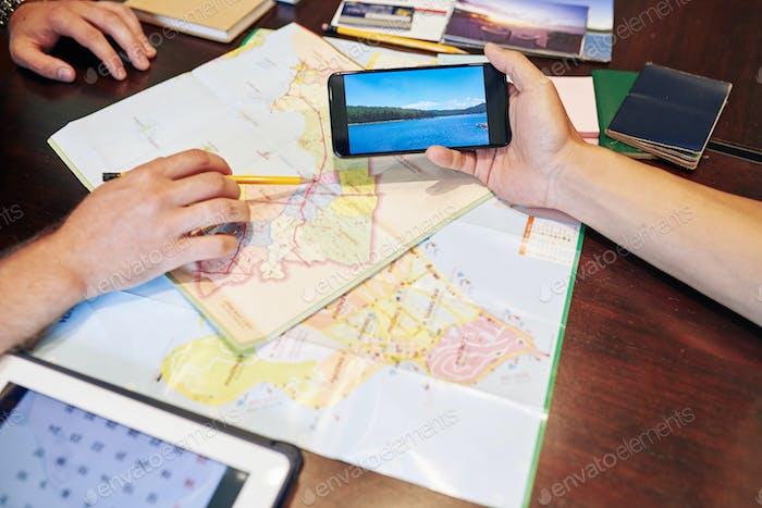 Auf der Suche nach dem besten Reiseort