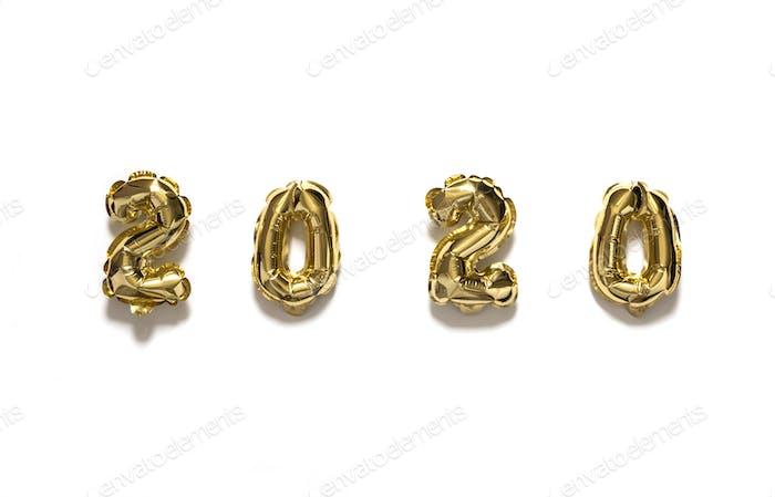 Neujahr Flat Lay Zusammensetzung