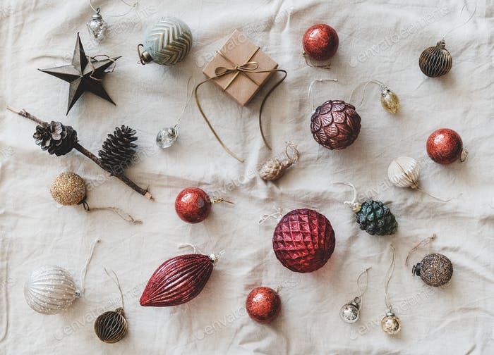 Christmas or New Year holiday background, texture and wallpaper