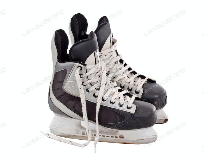 Pair of hockey skates
