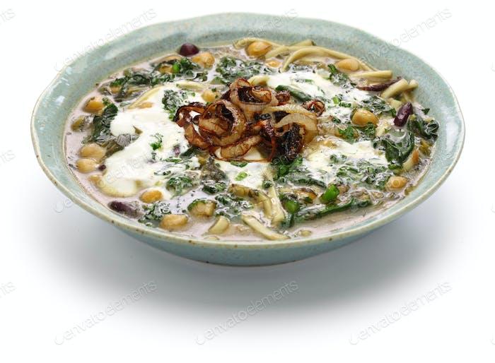 ash reshteh, persian noodle soup