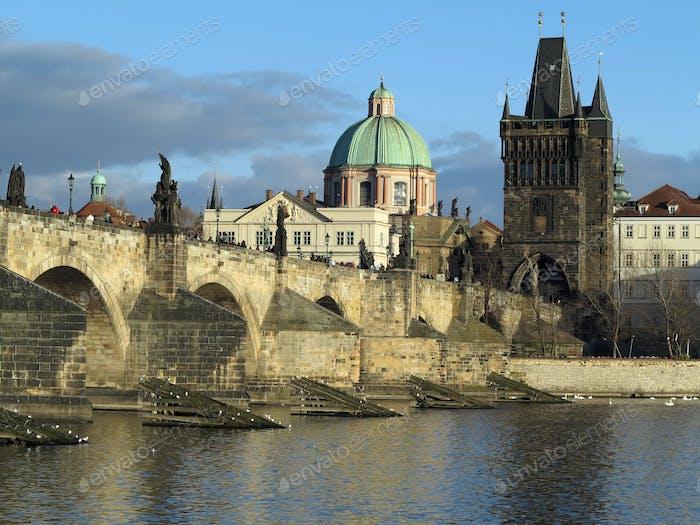 Puente de Carlos y Torre de la Ciudad Vieja