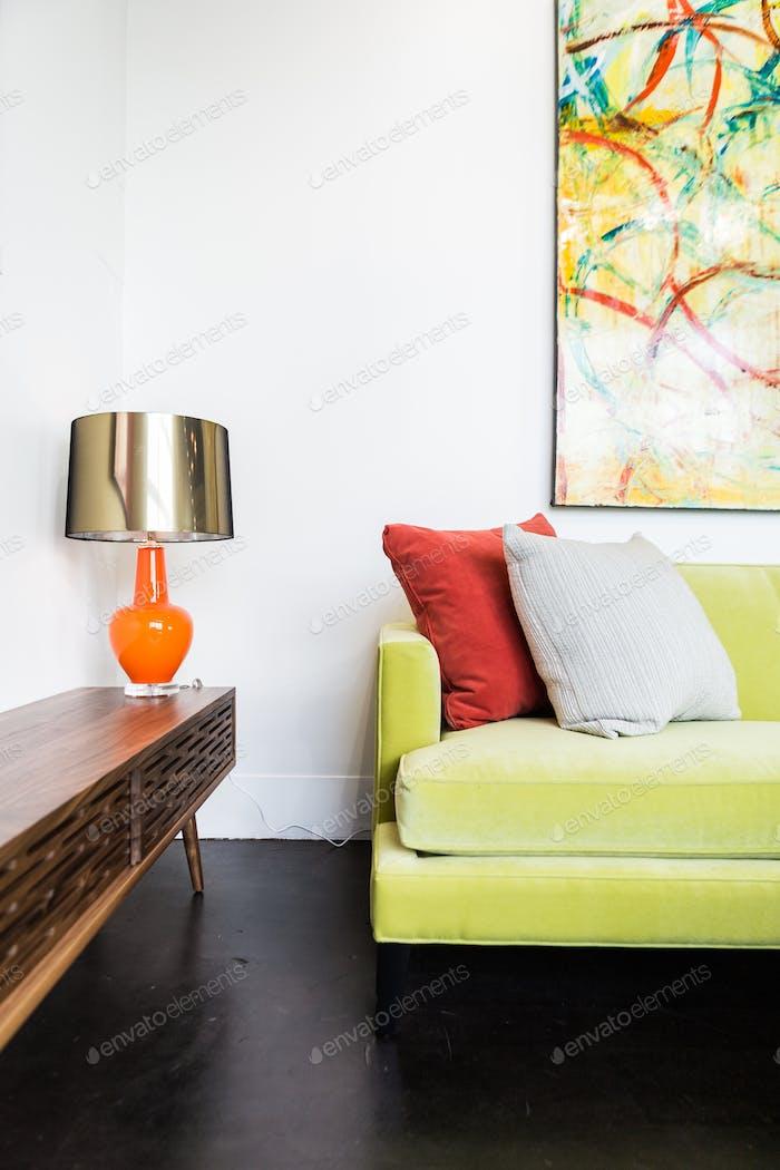 Corner of a Modern Home