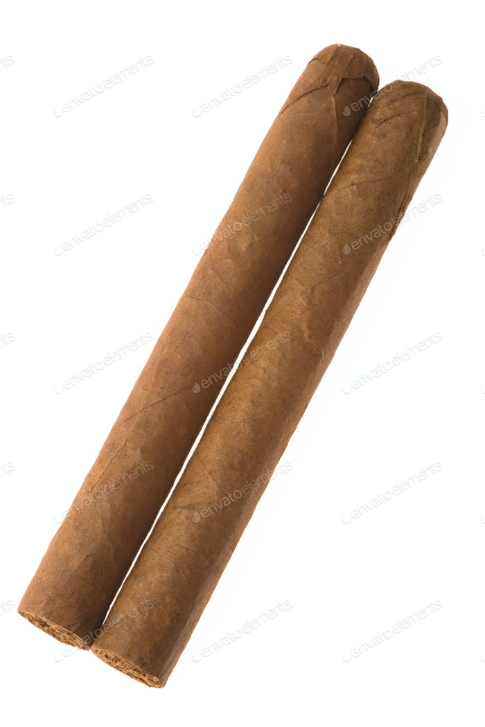two cuban cigar