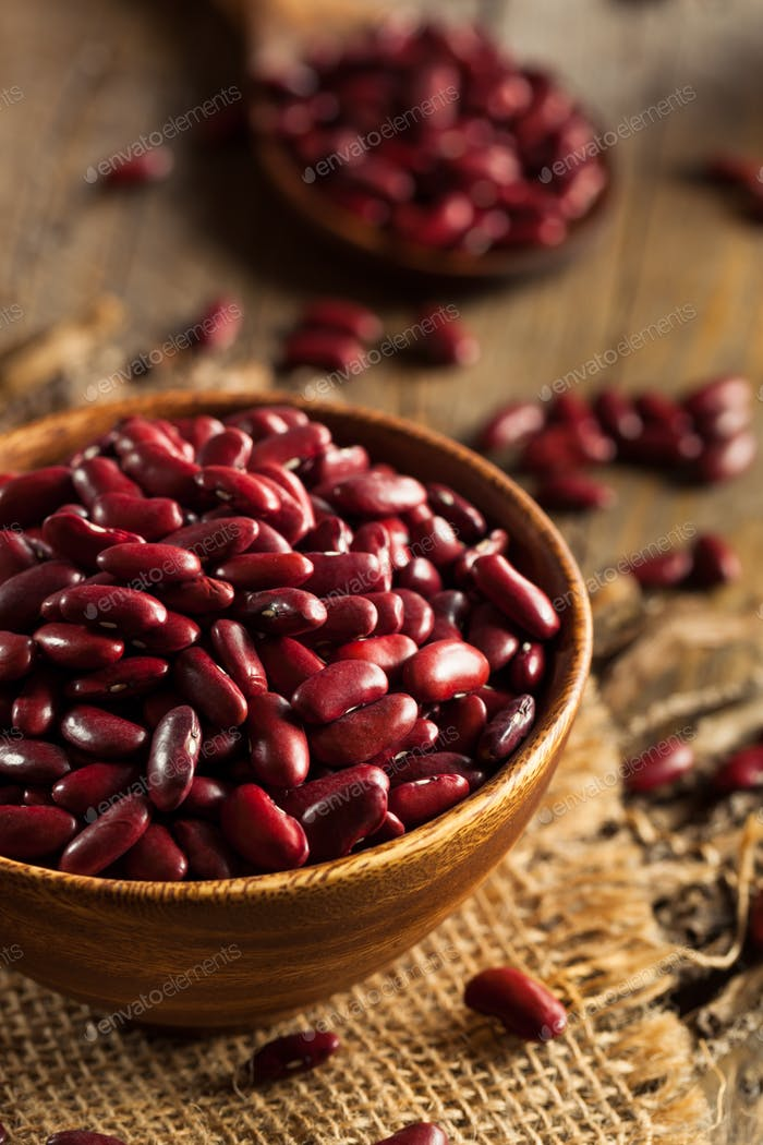 Thumbnail for Raw Red Organic Kidney Beans