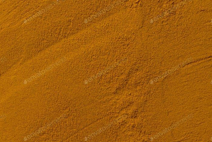 Turmeric powder, indian spice, healthy seasoning ingredient
