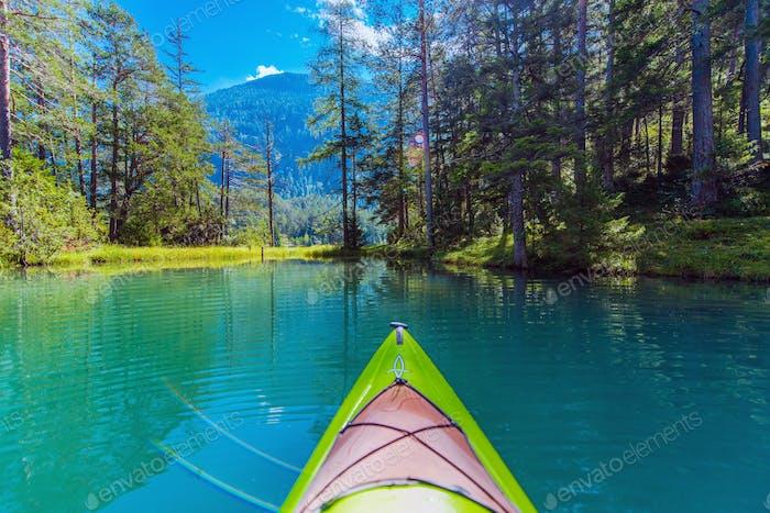 Kayak Randonnée sur le lac