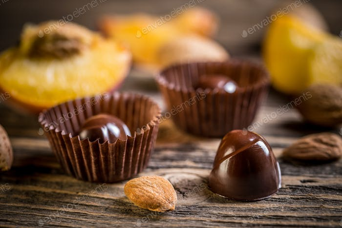 Gourmet-Schokoladenbonbons