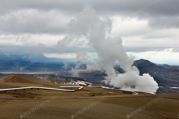 Geothermal Energy, Iceland