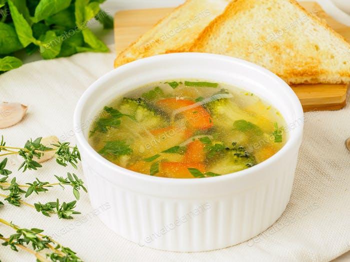 Köstliche, dicke Suppe