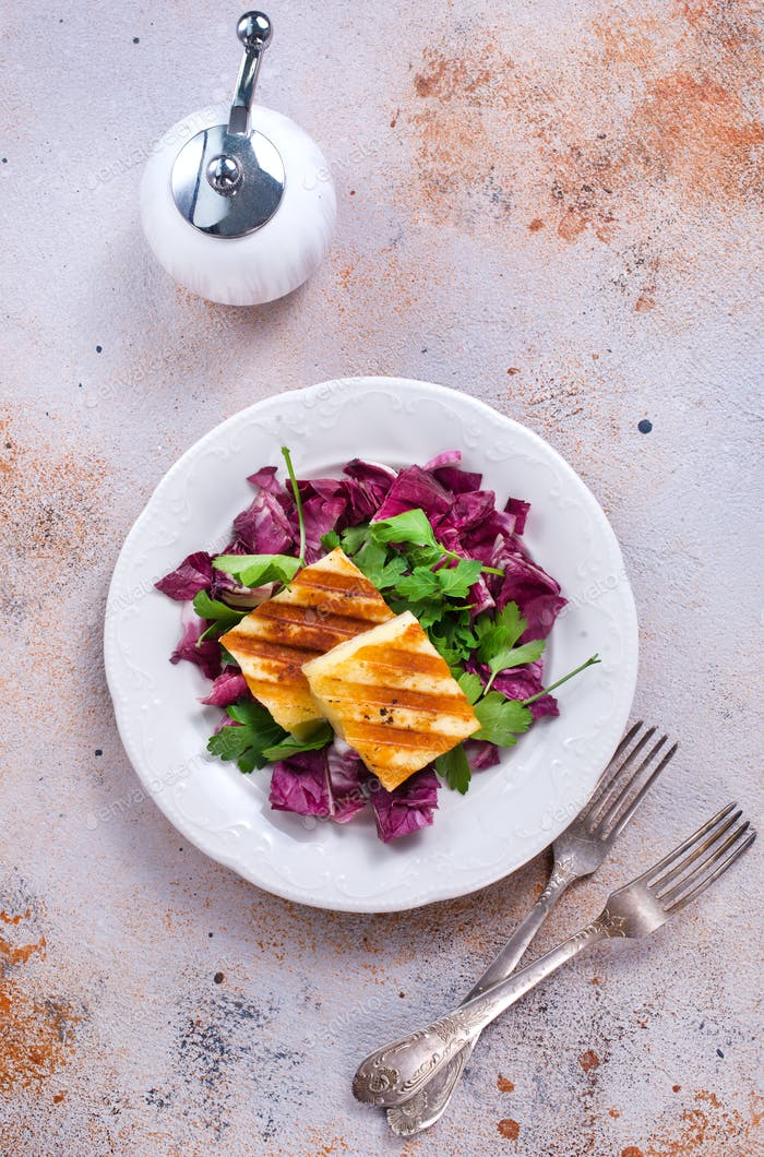 salad with cheese