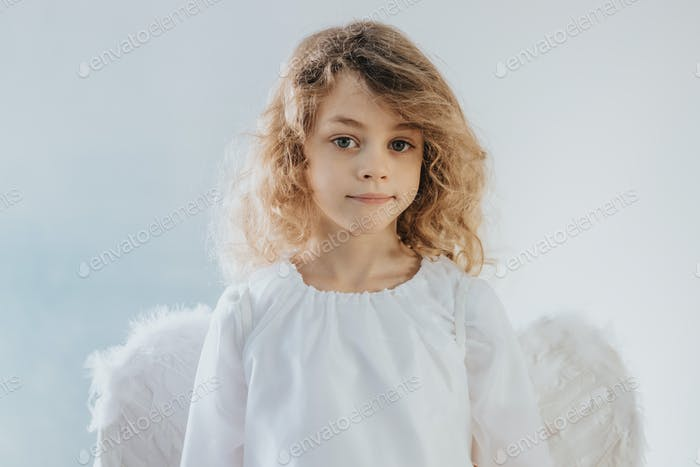 Child as an angel