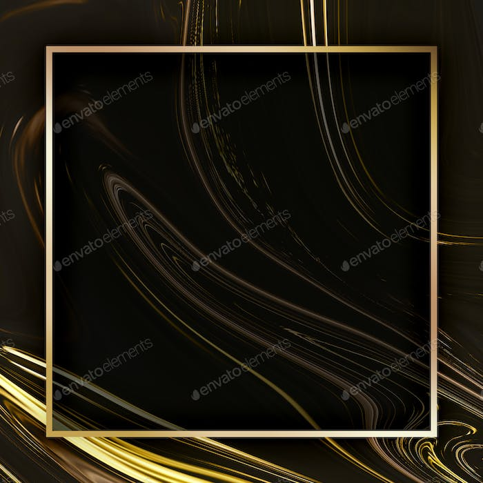 Fluid texture background squared frame