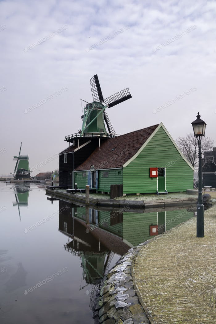 Windmill in the Zaanse Schans